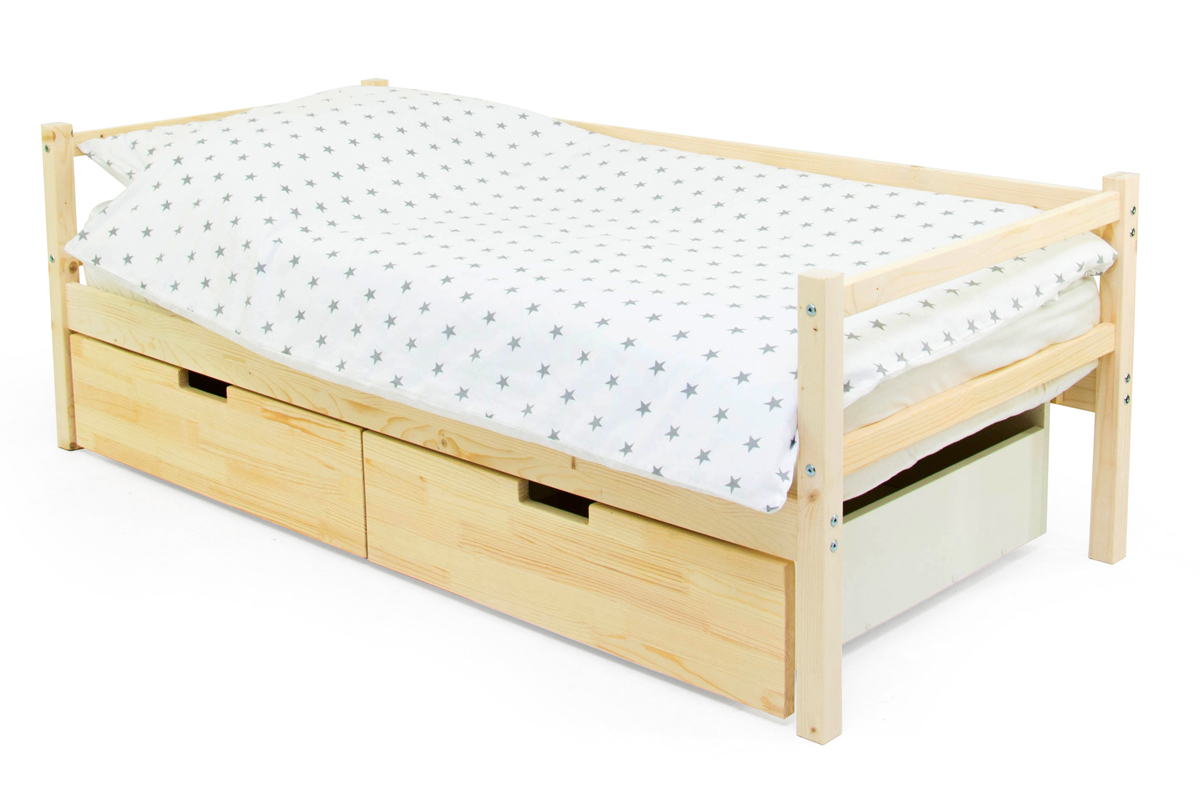 кровать-тахта натурал