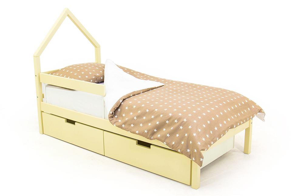 детская кровать бежевый