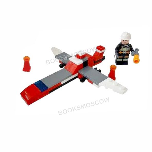 пожарный самолет блокформерс