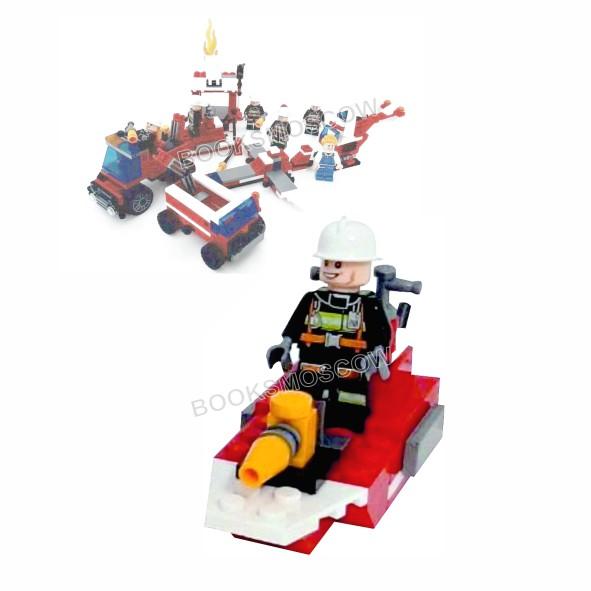 пожарный катер блокформерс