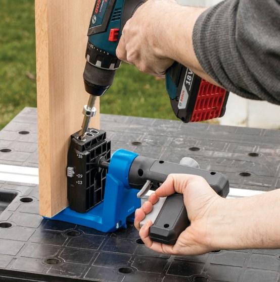 Сверло Micro-Pocket со стопорным кольцом и ключом для Kreg Pocket-Hole