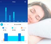 Контроль сна в Awei H1