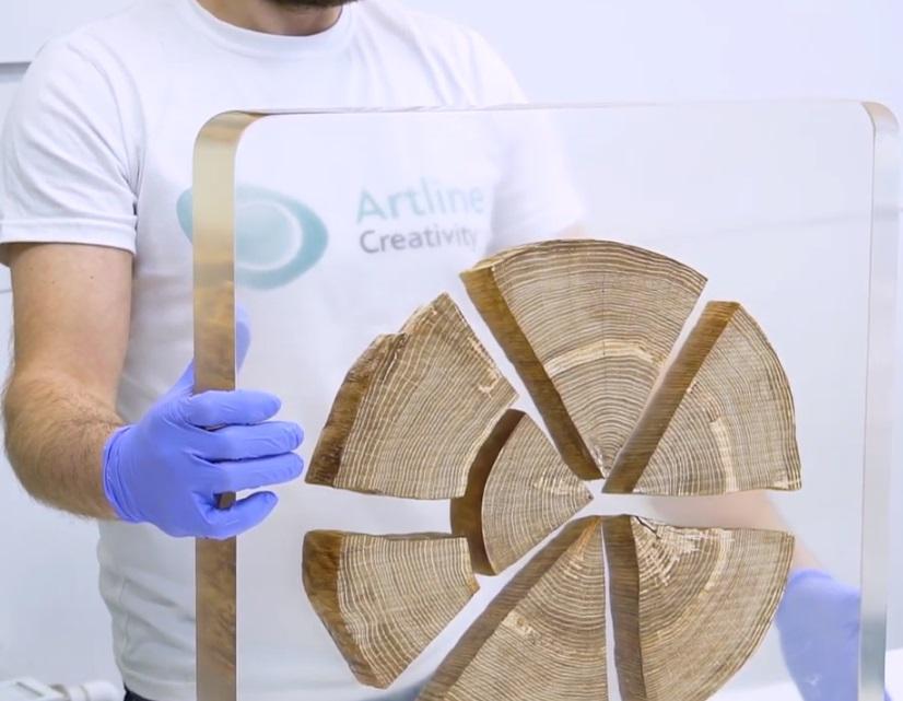 Эпоксидная смола для заливки столешниц Artline Wood-PRO