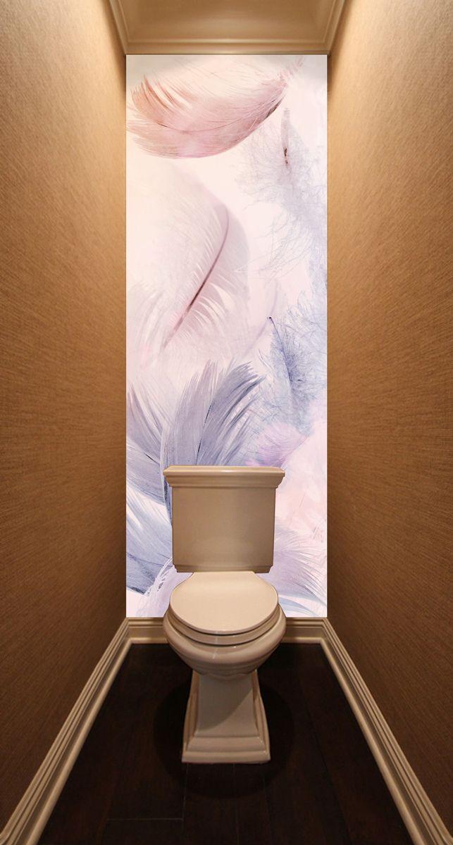 Фотообои в туалет - Левитация магазин Интерьерные наклейки