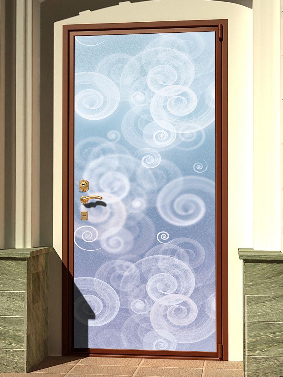 Наклейка на дверь - Виражи | магазин Интерьерные наклейки