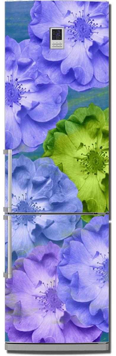 Наклейка на холодильник - Игра цвета   магазин Интерьерные наклейки